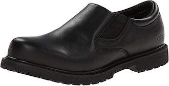 Skechers for Work Men's Cottonwood Gore Slip-Resistant Slip On