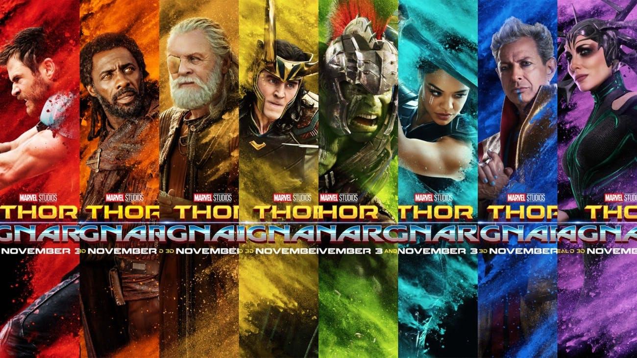 'Thor: Ragnarok' character posters. netflix disney+ release date