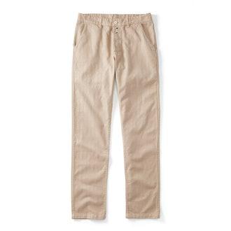 Vetra Cotton/Linen Herringbone Pants