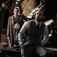 'Fantastic Beasts 2': Jude Law Dumbledore Made Fans Go Nuts