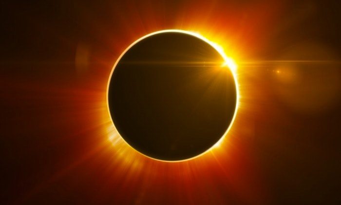Its no wonder peoples of ancient times thought an eclipse was an act of god