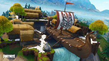 This Viking ship is seemingly the only instance of time travel on the new Season 5 map.