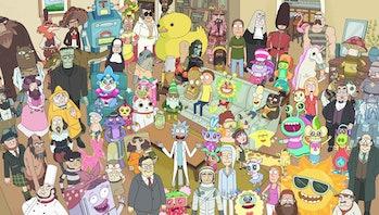 "'Rick and Morty' ""Total Rickall"""