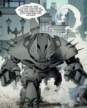 Justice Buster Batman Endgame