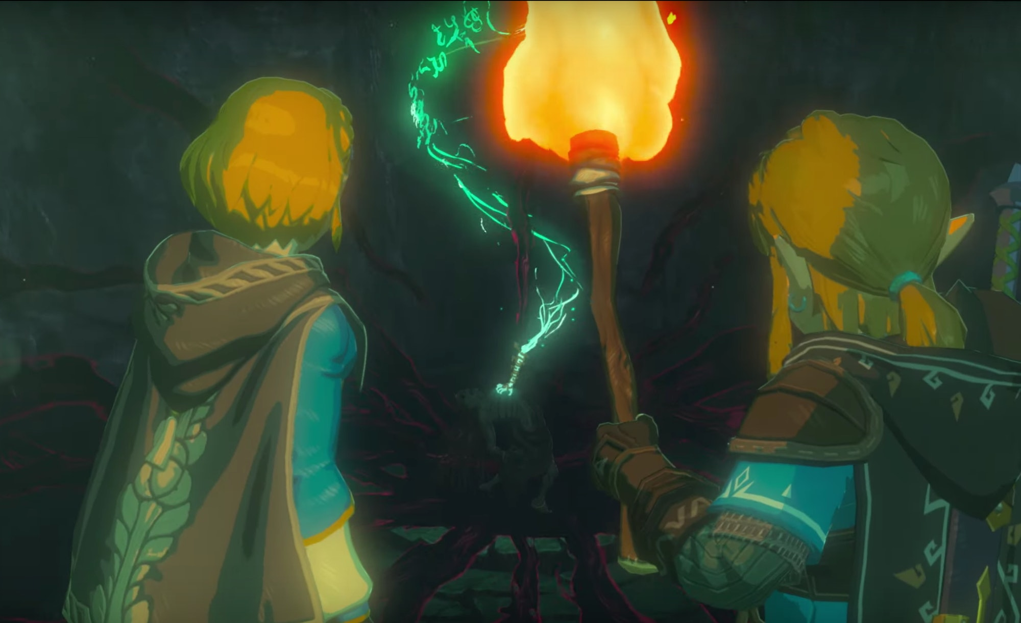 Still from Breath of the Wild announcement trailer.