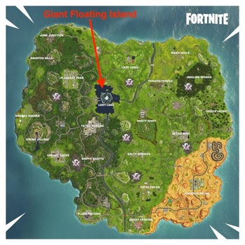 'Fortnite' Season 6 Map