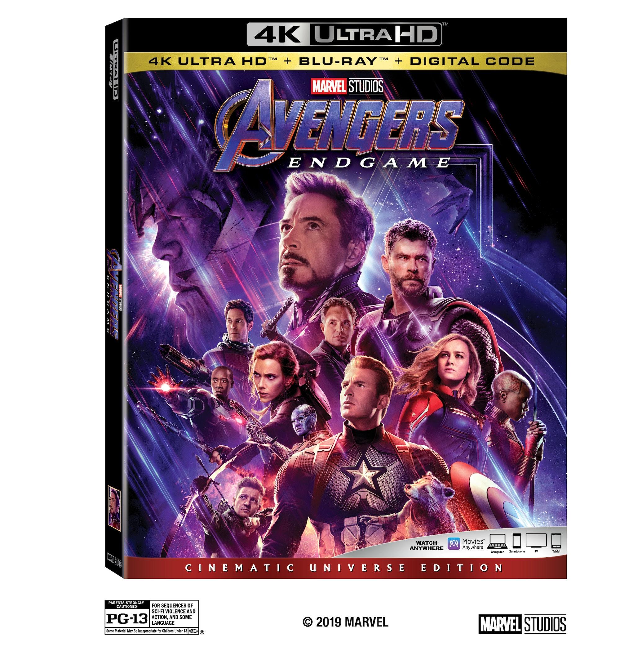 Avengers Endgame Blu-ray Release Date