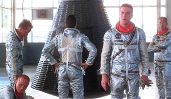 the right stuff astronauts NASA liberty bell 7