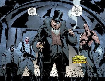 Penguin Gotham Top Hat