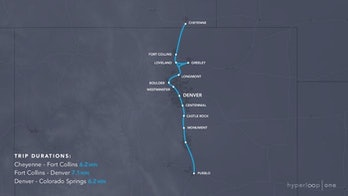 Cheyenne to Pueblo hyperloop