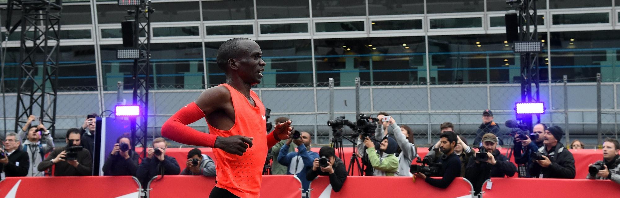 Adoración Perder Dormitorio  Nike's Breaking2 Narrowly Misses the 2-Hour Marathon Mark