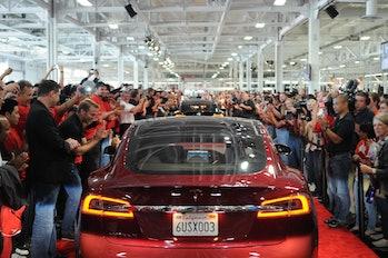 Tesla Model S Parade