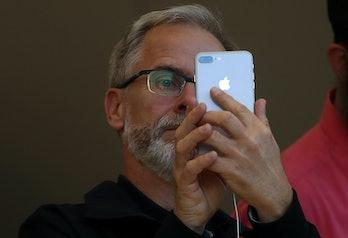 The iPhone 8 Plus.