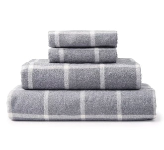 Eco Heather Flannel Sheet Set