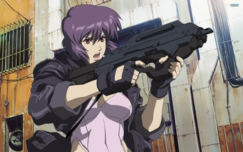 The Major is an icon in cyberpunk anime.