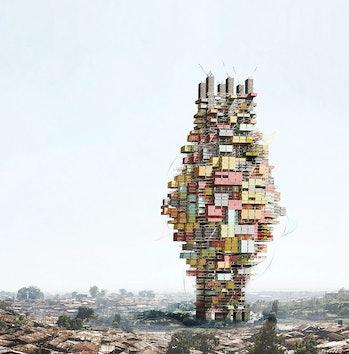 eVolo Skyscraper Contest, Socio-ecological Vertical Community in Tanzania