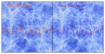 dark matter fuzzy cold