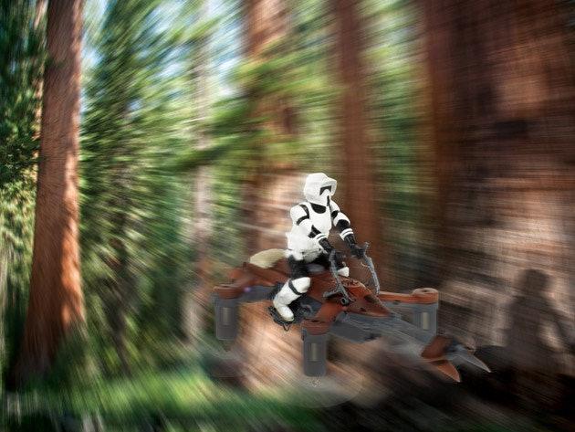 Star Wars Propel Drone: Collector's Edition (74-Z Speeder Bike)
