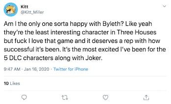 Super Smash bros Ultimate Byleth