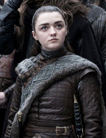 game of thrones season 8 arya stark maisie williams