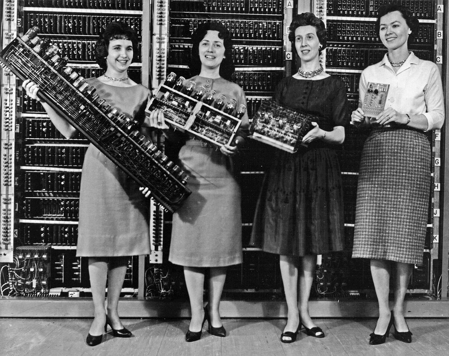 women technology history computing