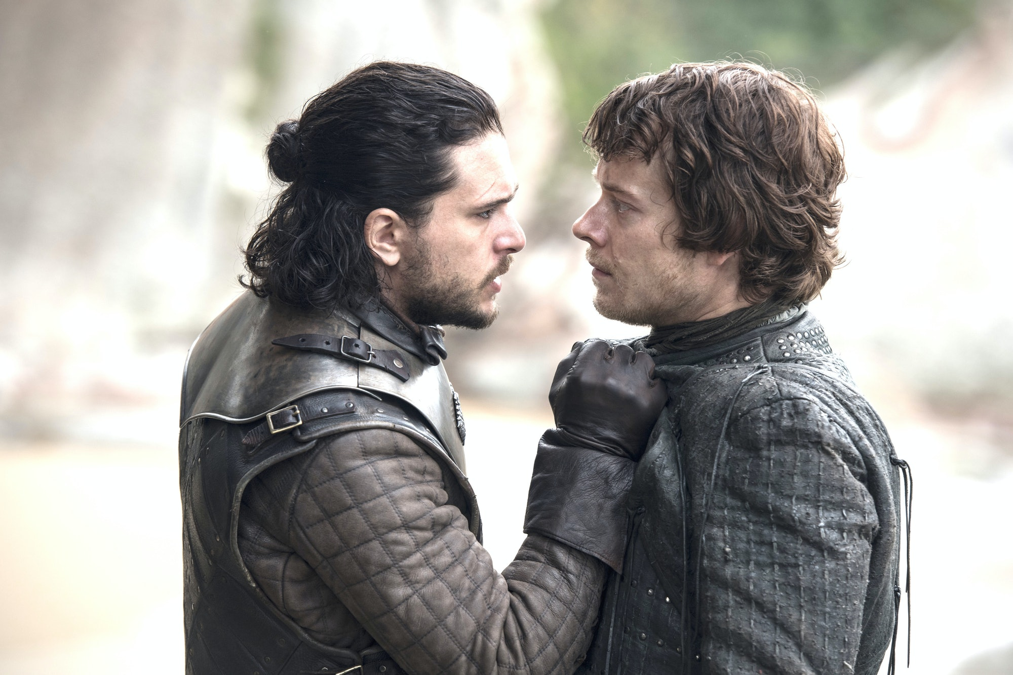 Jon and Theon in 'Game of Thrones'