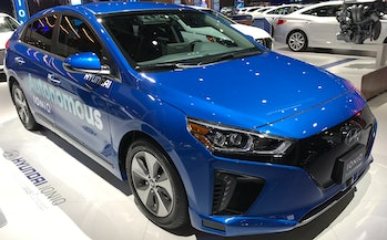 Hyundai hopes the Ioniq becomes iconic.