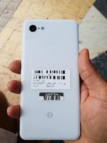 google pixel 3 XL leaks