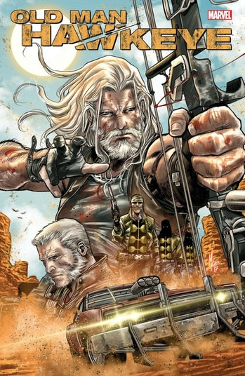 Old Man Hawkeye Cover