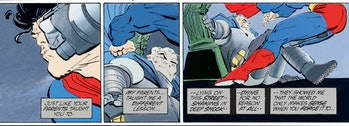 Batman Dark Knight Returns Crisis on Infinite Earths