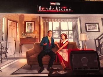wandavision poster concept art