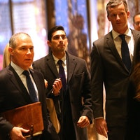 Three Climate Change Denials by Scott Pruitt, Trump's EPA Pick
