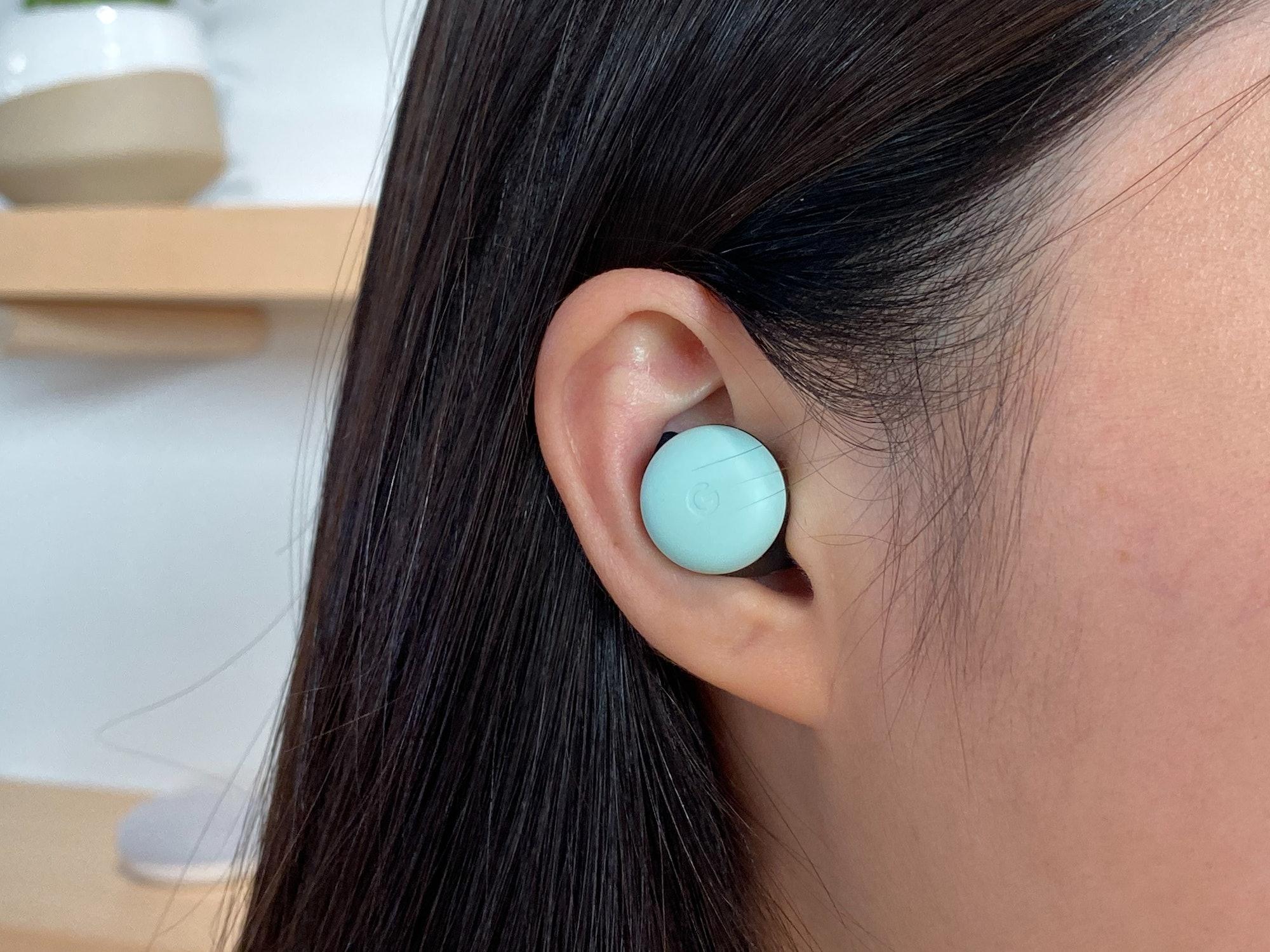 New Pixel Buds in ear
