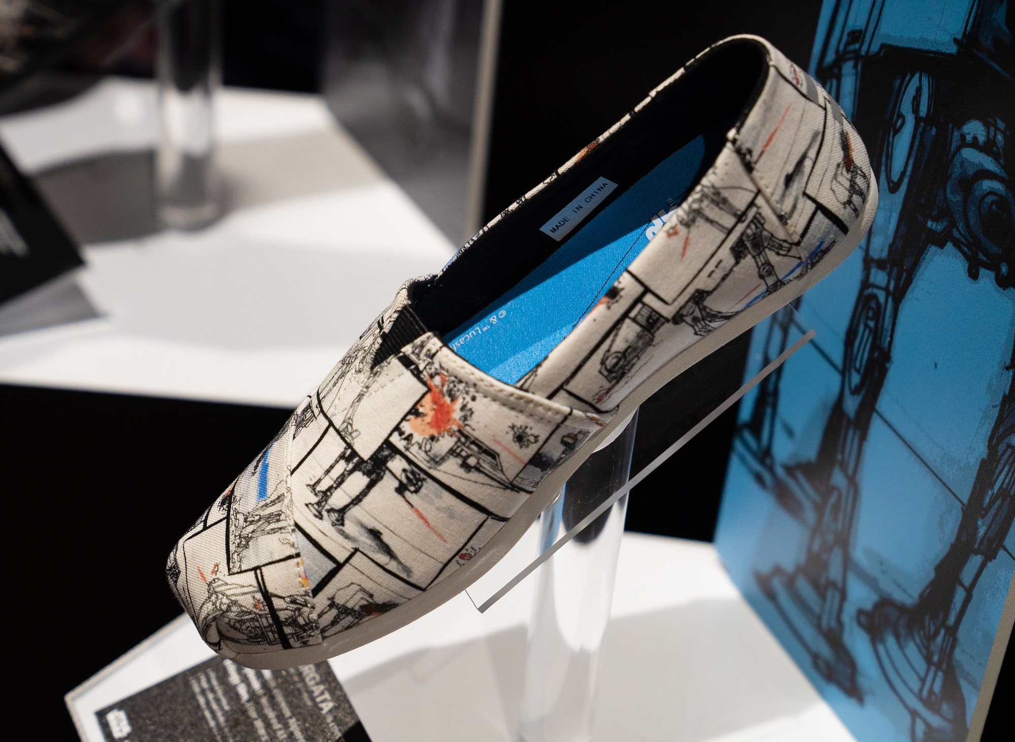 Toms x Star Wars Shoes Comic-Con 2019