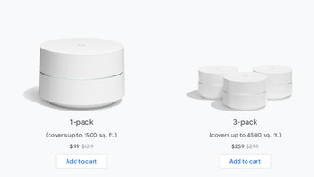 google wifi mesh routers