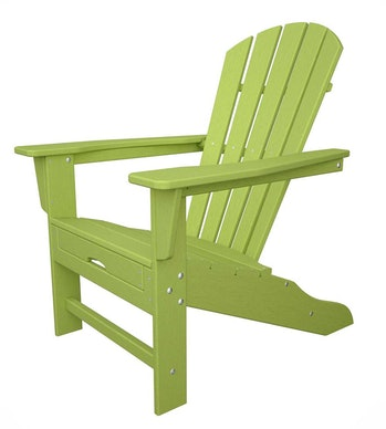 POLYWOOD Adirondack Chair with Hideaway Ottoman
