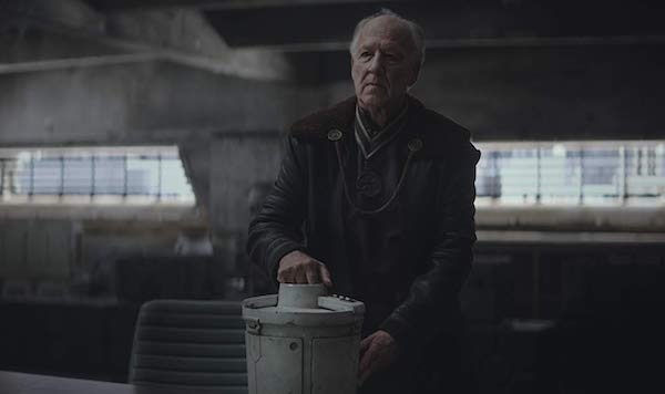 Werner Herzog as The Client in 'The Mandalorian' on Disney Plus