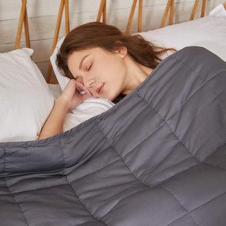 ZonLi Weighted Blanket - Queen - 20 Lbs
