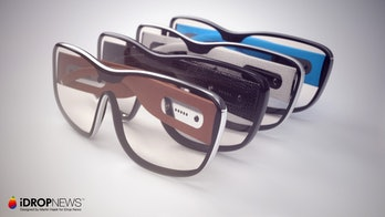 A set of Apple Glasses lined up.