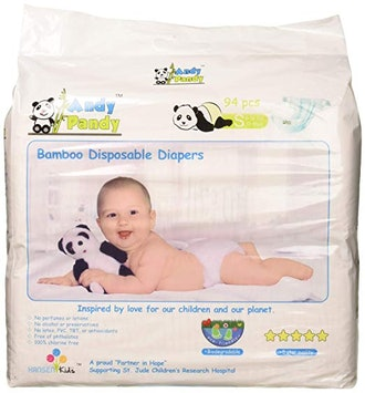 Eco Friendly Premium Disposable Bamboo Diapers
