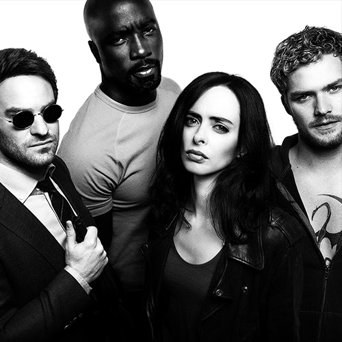 Mike Coulter's Luke Cage is in 'The Defenders'