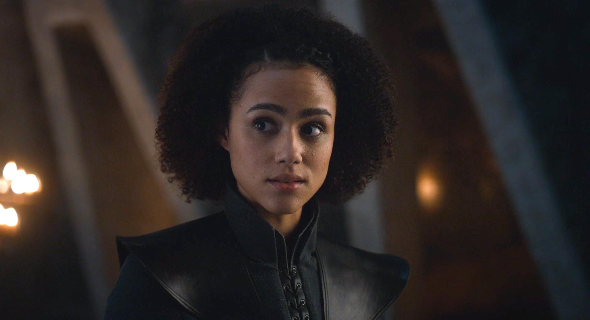 Nathalie Emmanuel as Missandei in 'Game of Thrones' Season 7