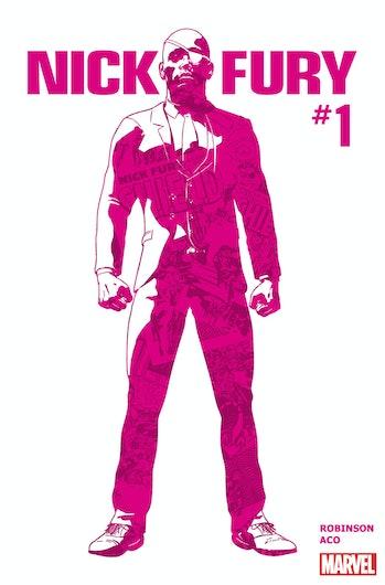 Nick Fury Comic Marvel