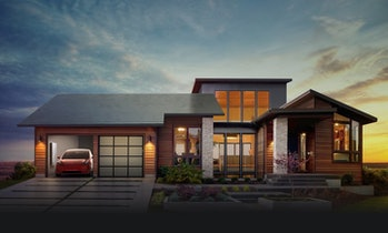 Elon Musk's ideal vision for a Tesla-powered house.