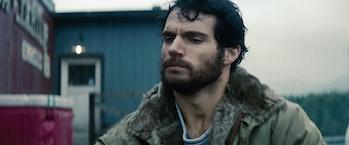 Man of Steel Beard Superman