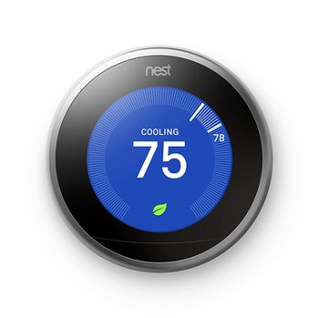 Nest (T3007ES) Learning Thermostat, Easy Temperature Control for Every Room in Your House, Stainless...