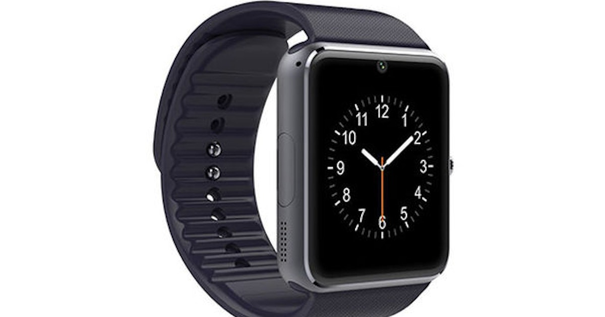 This Apple Watch Lookalike Has Big Features at a Tiny Price