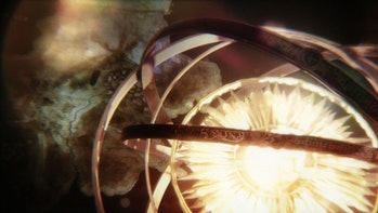 The gyroscope in the 'Game of Thrones' opening credits