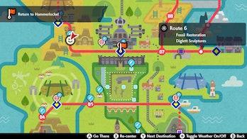 Route 6 Pokemon Sword and Shield