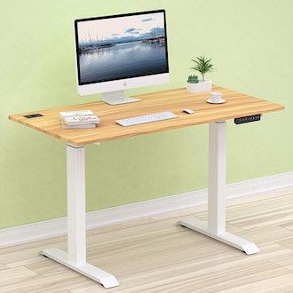 SHW Electric Height Adjustable Desk